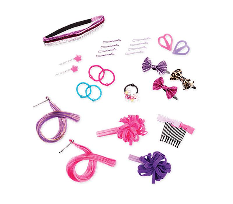 """Accessoires OG - """"Rock N' Sweet Hair Set"""" pour poupée de 46 cm"""