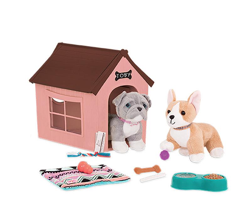 """Accessoires de luxe OG - """"Og Puppy House"""" pour poupée de 46 cm"""