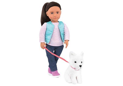Our generation Poupée OG Pet Collection - Cassie 46 cm