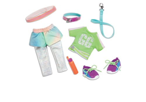 """Glitter Girls Glitter Girls - Ensemble de luxe """"Let's go for a run!"""" pour poupée 36 cm"""