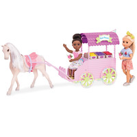 Glitter Girls Carrosse fleuri