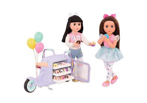 Glitter Girls Glitter Girls Scooter de livraison de beignes