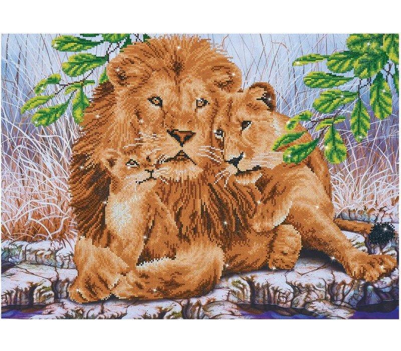 Diamond Dotz - Lion Family