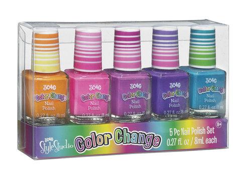 Make it Real 3C4G- Vernis à ongles 5 pièces Changeant de couleur