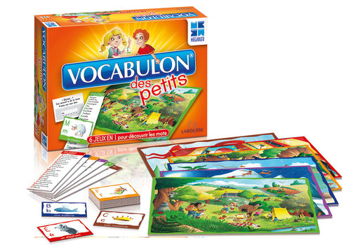 MegaBleu Megableu - Jeu Vocabulon Des Petits Version française