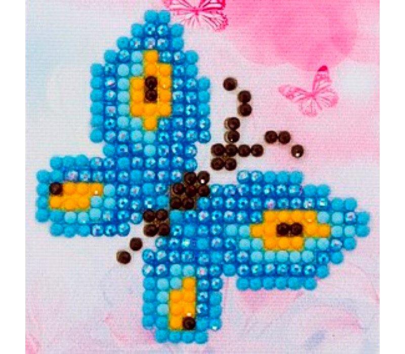 Diamond Dotz - Ensemble départ Butterfly Sparkle