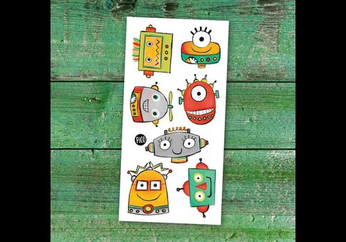pico Tatouages temporaires - Les robots rigolos