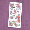 pico Tatouages temporaires - Les merveilleux oiseaux