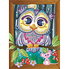 Sequin Art Smoogles Hoot le hibou