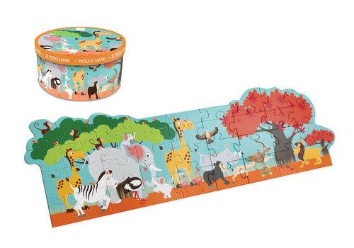 Scratch Casse-tête de plancher Safari 36 pièces