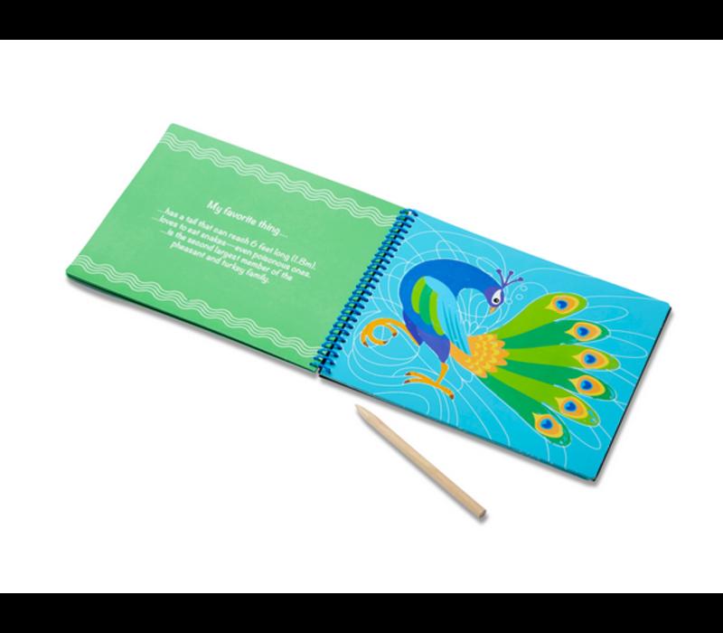 Favorite Things Picture Reveal Pad - Carnet de cartes à gratter, jolis dessins