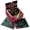Melissa & Doug Box of Rainbow Mini Notes, Boîte de mini-notes, carte à gratter