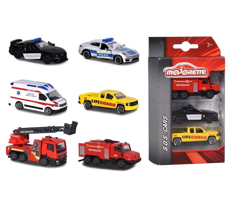 S.O.S. Ensemble 3 voitures