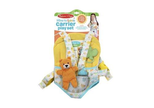 Melissa & Doug Carrier Play Set  - Porte-bébé pour poupée