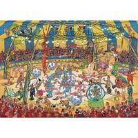 Casse-tête 1000 morceaux, Acrobates de cirque, JvH