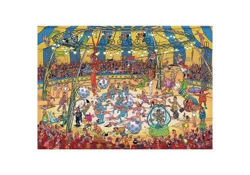 Jumbo Casse-tête 1000 morceaux, Acrobates de cirque, JvH