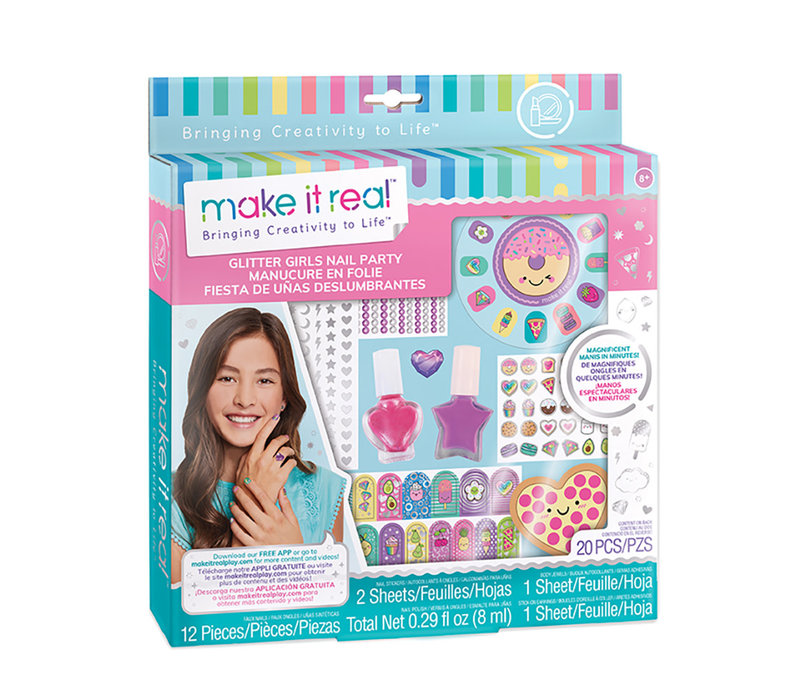 Make it real Manicure amusante