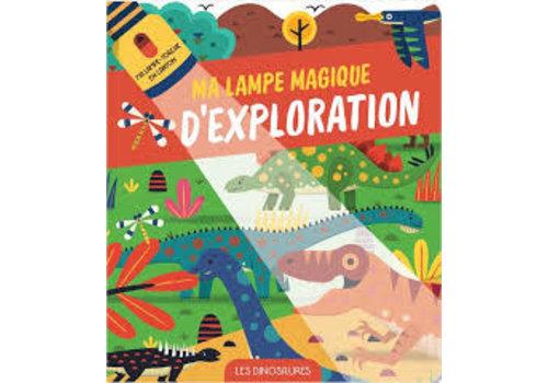 yoyo éditions Ma lampe magique- Les dinosaures