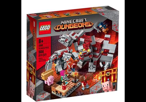 Lego Minecraft - La bataille de la pierre rouge