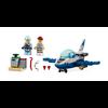 Lego City - L'Avion de patrouille police du ciel