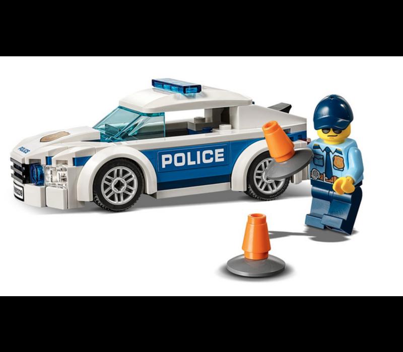 City - Voiture de patrouille de la police