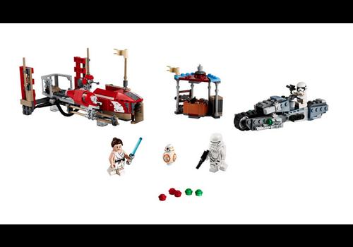 Lego Star Wars - Poursuite en speeder sur Pasaana