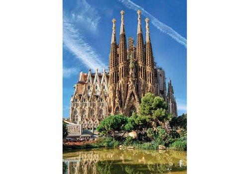Jumbo Casse-tête 1000 morceaux, Sagrada Familia View, Barcelona