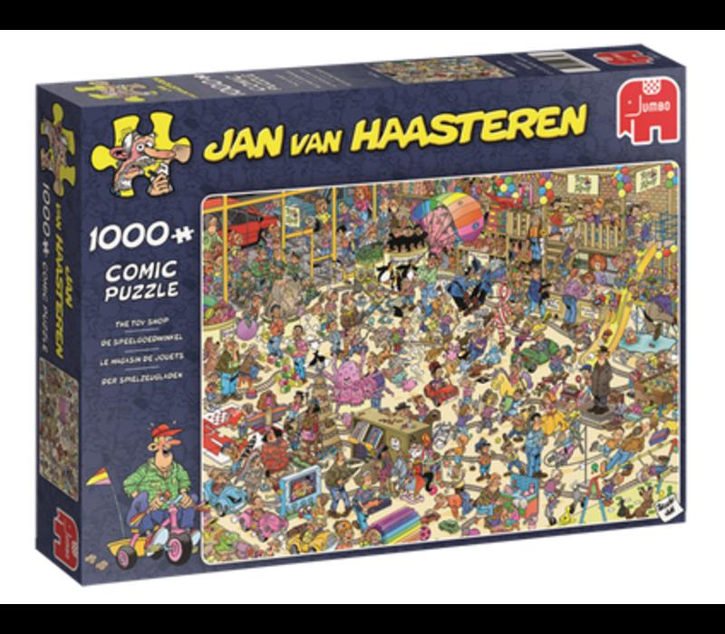 Casse-tête 1000 morceaux, Le magasin de jouets