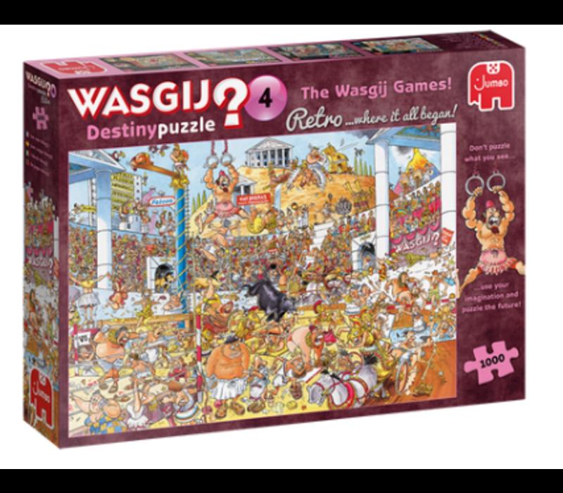 Casse-tête 1000 morceaux, Wasgij Retro Destiny  #4, Olympic Odyssey
