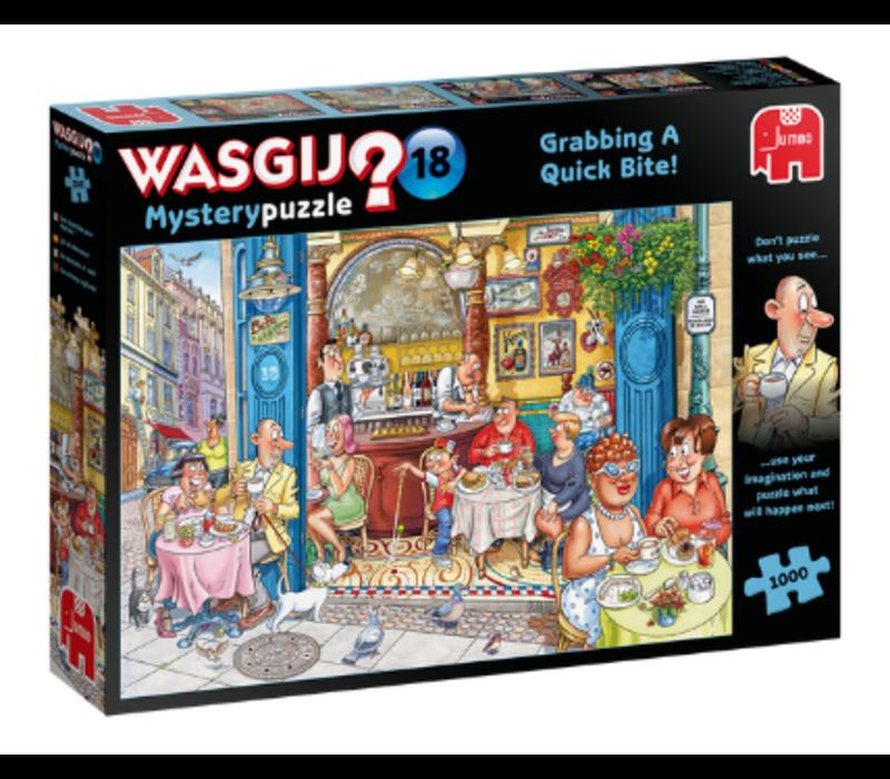 Casse-tête 1000 morceaux, WasGij Mystery 18, Une bouchée pour chacun
