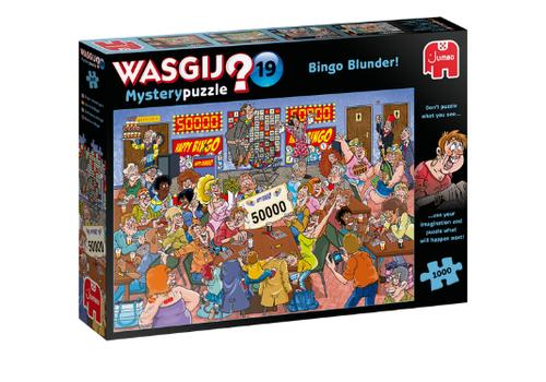 Jumbo Casse-tête 1000 morceaux, WasGij Mystery 19, Bingo Blunder!