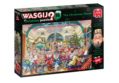 Jumbo Casse-tête 1000 morceaux, WasGij Xmas 16, The Christmas Show