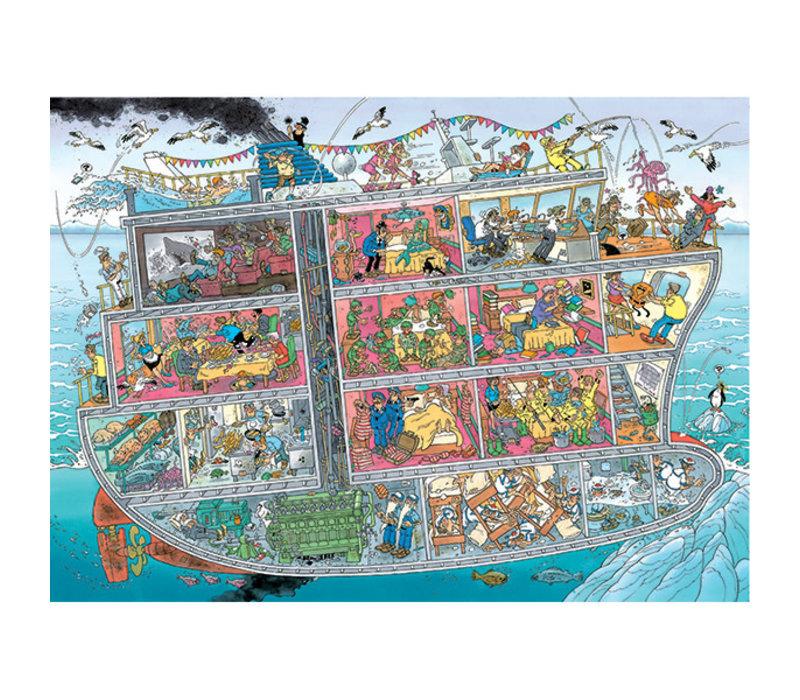 Casses-tête 1000 morceaux, The Cruise Ship