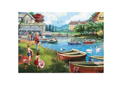 Jumbo Casse-tête 1000 morceaux, The Boating Lake