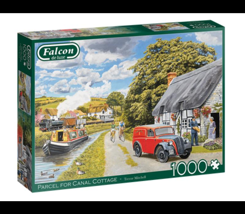 Casse-tête 1000 morceaux, Parcel for Canal Cottage