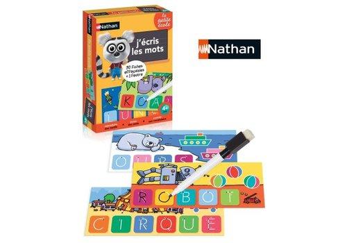 Nathan Nathan, J'ecris les mots