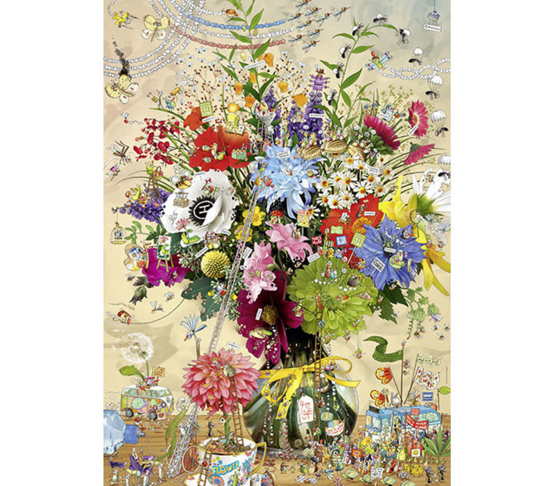 Casse-tête 1000 morceaux, Flower's Life, Degano