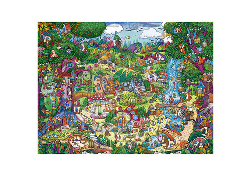 Casse-tête 1500 morceaux, Wonderwoods, Berman