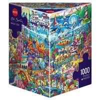 Casse-tête 1000 morceaux, Magic Sea, Berman
