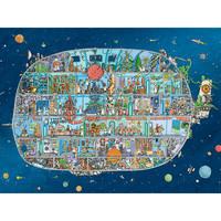 Casse-tête 1500 morceaux, Spaceship, Adolfsson