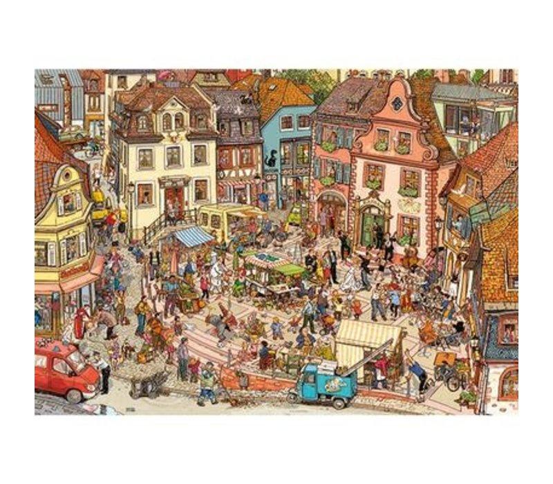 1000 pcs, Market Place, Goebel & Knorr