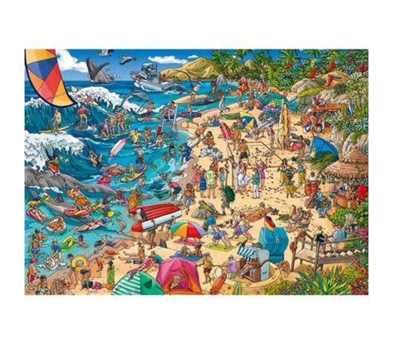 Casse-tête 1000 morceaux, Seashore, Tanck