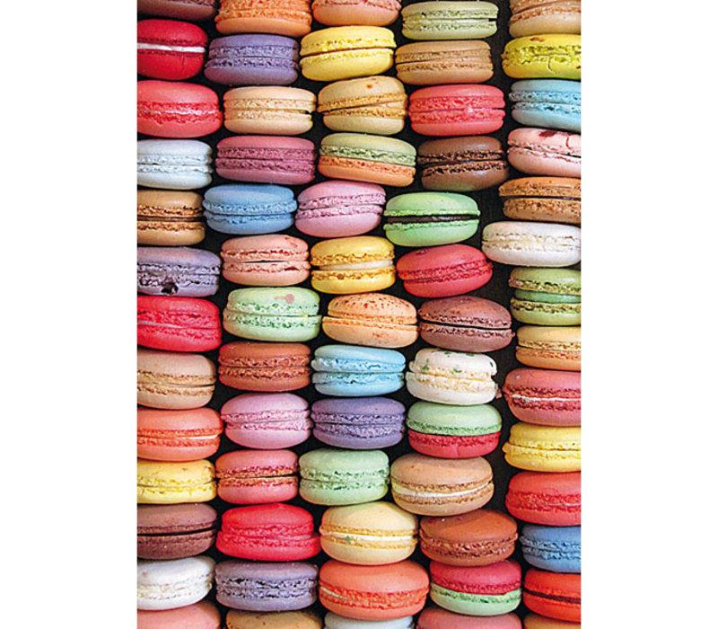 Casse-tête 1000 morceaux, Macarons