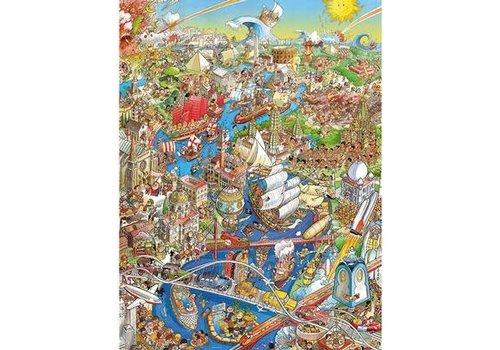 Casse-tête 1500 morceaux, History River, Prades