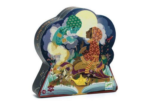 Djeco Puzzle silhouette / Aladin