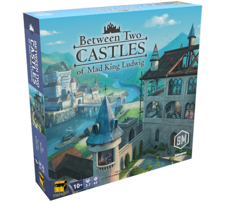 Between two castles of Mad King Ludwig (anglais)