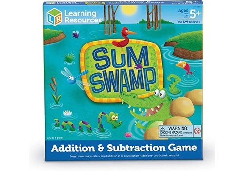 Learning Resources Sum Swamp Addition et soustraction