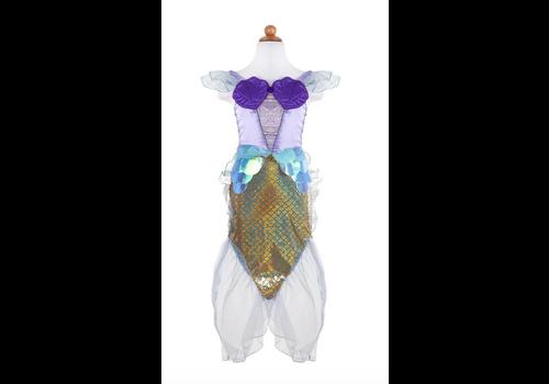 creative education Mermaid Dress & Headband, Pink, Size 3-4