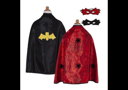 creative education Cape réversible spiderman - batman - Spiderbat Cape & mask-  ans