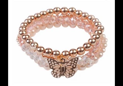 creative education Blush Crush 4 Pcs Bracelet Set